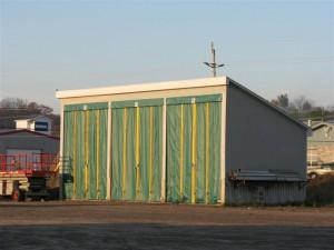Salt Storage Door
