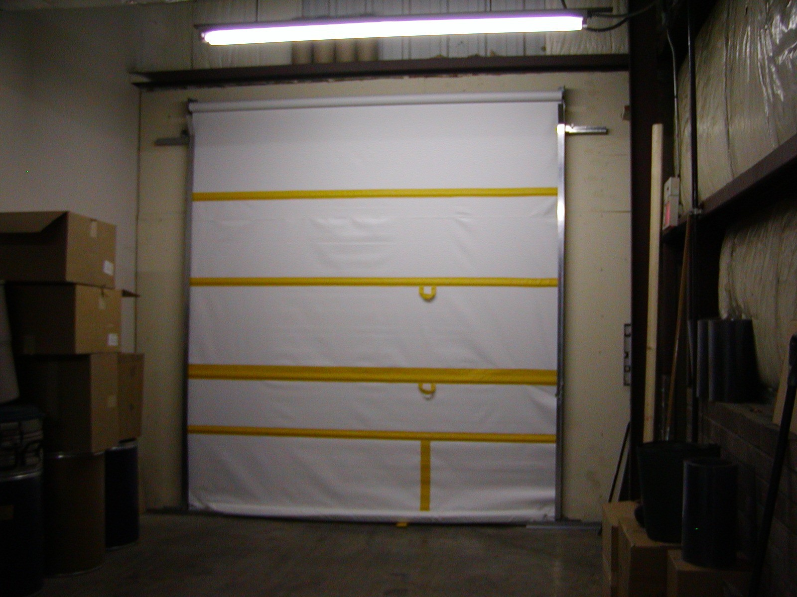 Roll Up Vinyl Door