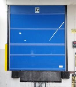 Industrial Roll Up Screen Door