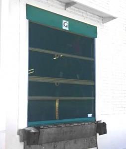 Roll Up Bug Barrier Screen Door