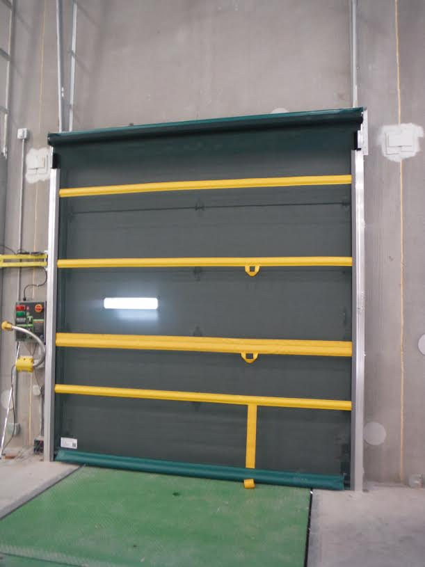 Roll Up Bug Barrier Screen Door