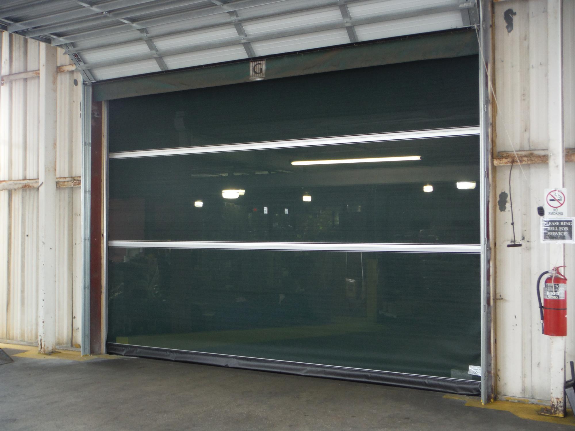 High Cycle Roll Up Screen Door