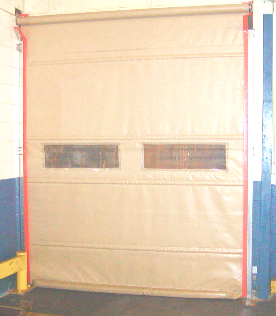 Automatic Roll Up Vinyl Door